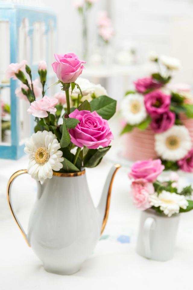 La Comunion de Noa Magazine - decoracion floral primera comunion