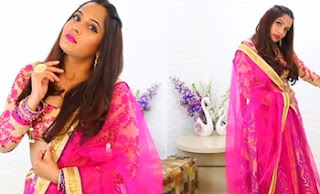 Ethnic Lookbook & GIVEAWAY | Bollywood Lehengas