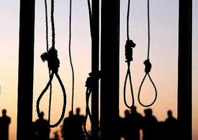 Hanged Sentence, hanged, Peshawar, Pakistan, Central Jail Kohat, Pakistan hangs four terrorists