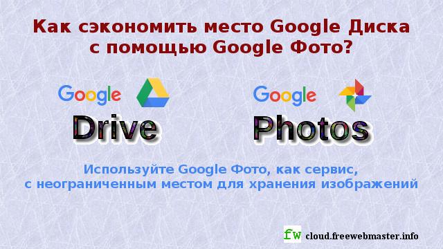 Как освободить хранилище Google Диска с помощью Google Фото?