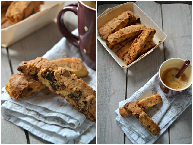 Recette facile biscotti chocolat-abricots - muffinzlover.blogspot.fr