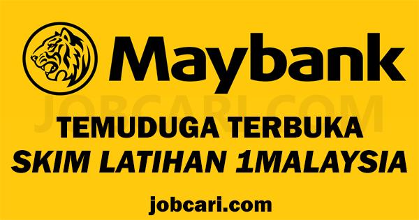 SKIM LATIHAN 1 MALAYSIA MAYBANK 2016