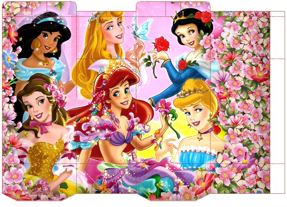 Disney Princess Free Printable Boxes. | Oh My Fiesta! in ...