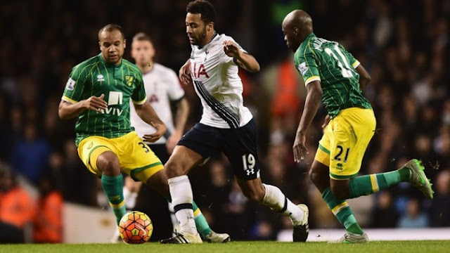 Norwich City vs Tottenham Hotspur