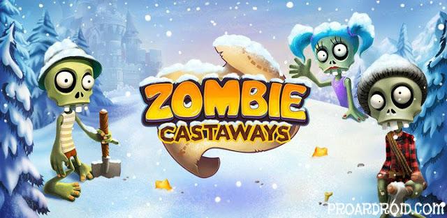 لعبة Zombie Castaways v3.31.1 مهكرة كاملة للأندرويد (اخر اصدار) logo