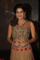 Jenny in brown transparent sleeveless anarkali dress at Shamanthakamani pre release function ~  Exclusive 056.JPG