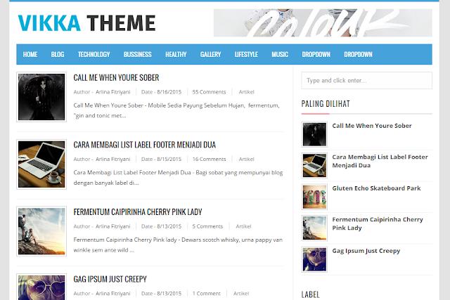 Vikka Theme Blogger Template 2016                                                                                                                                                                                                                                                                                                http://blogger-templatees.blogspot.com/