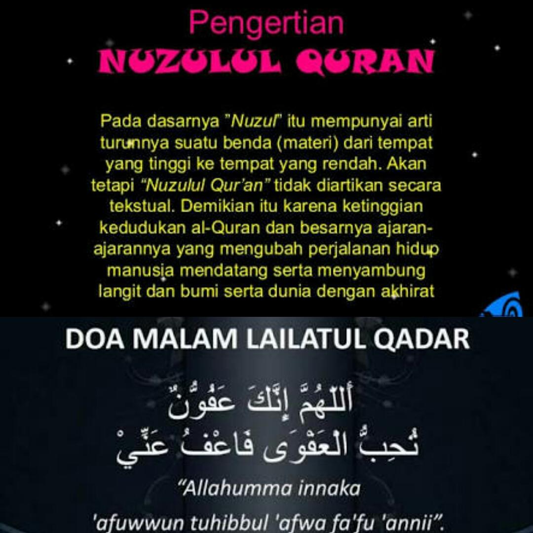Perbedaan Lailatul Qodar Dengan Nuzulul Quran Erhaje88 Blog