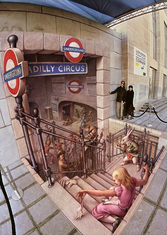 25-The-Belgian-Underground-Kurt-Wenner-3D-Street-Pavement-Art-Painting-www-designstack-co