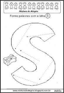 Formar palavras com a letra S