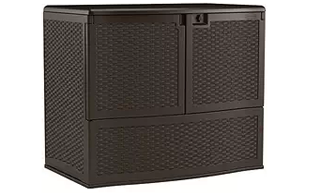 Suncast VDB19500J Vertical Deck Box, Suncast Storage Boxes, Suncast Vertical Deck Boxes, Suncast Elements, Suncast Storage Cube, Suncast Patio Storage Box, Suncast Wicker Deck Box, Suncast Deck Box with Seat, Suncast,