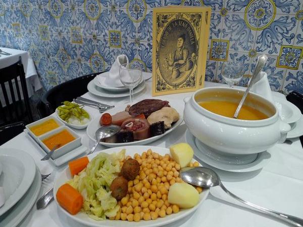 10 restaurantes para comer un buen cocido madrileño