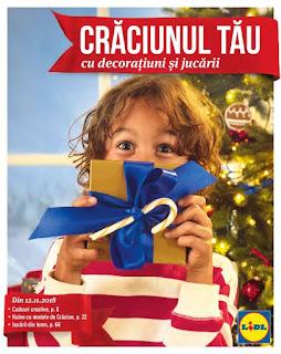 CATALOG LIDL Decoratiuni de Craciun si Jucari 2018