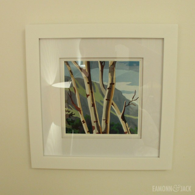 Framed Mara Minuzzo print