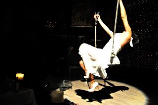 Diva del Cabaret, en el hotel Utopia, Merche Corisco