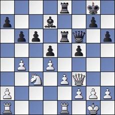 Partida de ajedrez Manolita Nacher y María Lluïsa de Zengotita, posición después de 24. Df3?