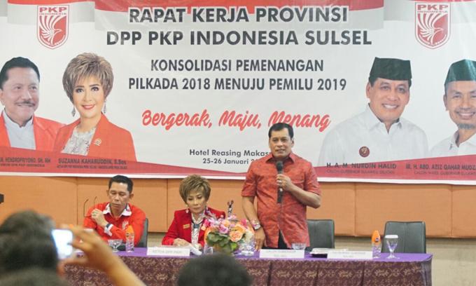 PKPI Gelar Rakor Strategi Pemenangan NH-Aziz