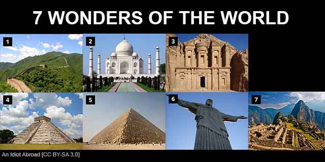 The Great Pyramid and the 7 Wonders of the World