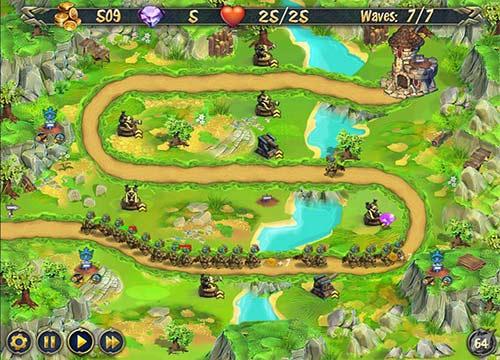 لعبة الاكشن الدفاع الملكي Royal Defense للكمبيوتر واللاب توب