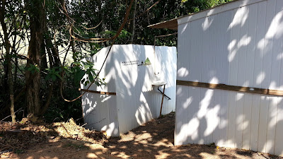 banheiros Camping do Sossego
