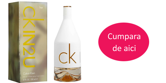 Parfum femei Calvin Klein - CK In2U, 150 ml -63% reducere