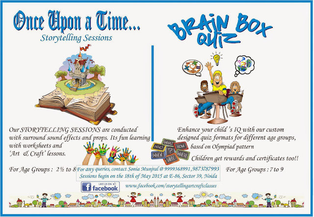 Story Telling Sessions and Brain Box Quiz