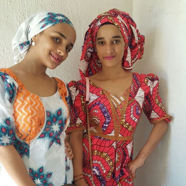 These Girls Are Nigerians And Of The Hausa Lineage But The Dad Married A White Woman They Made This List Of Most Beautiful Hausa Girls Because We Count
