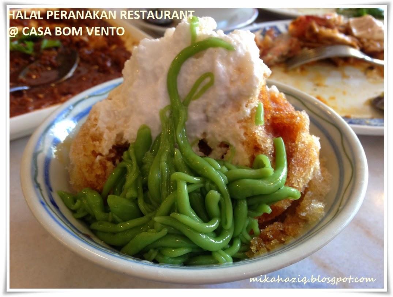 singapore best halal cendol