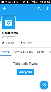 Daftar Twitter Di Android Blog Ku Santo