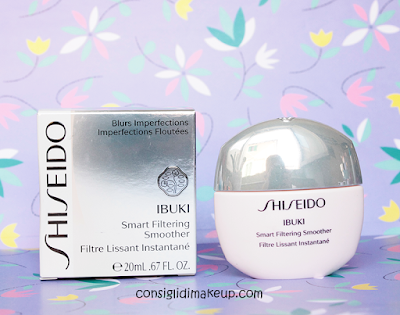 Ibuki Smart Filtering Smoother Shiseido, per una pelle da selfie!