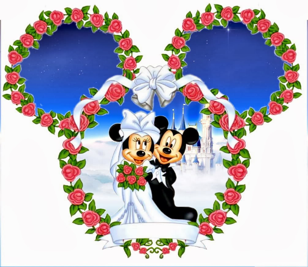 Minnie And Mickey Wedding Free Printables Oh My Fiesta