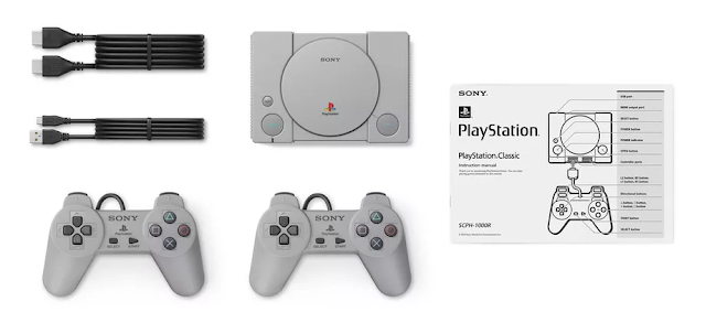 Sony Announced PlayStation Classic Model with 20 In-Built Retro Games
