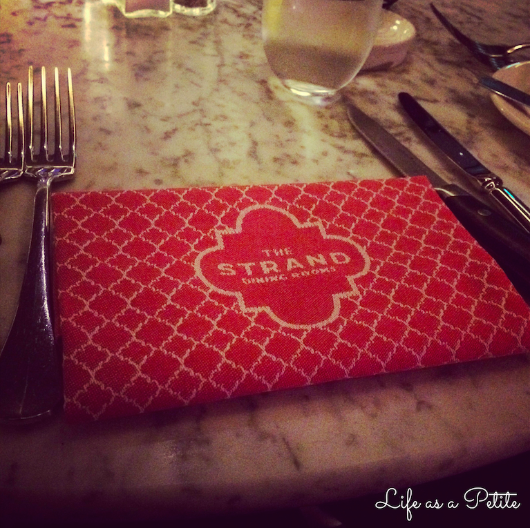 The Strand Dining Rooms Review - Life as a Petite
