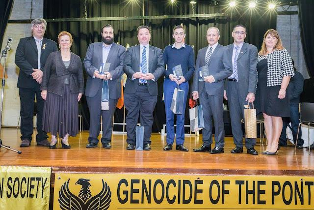 Οι τρεις Ποντιακές αδελφότητες της Νέας Νοτίου Ουαλίας τίμησαν Ημέρα Μνήμης της Γενοκτονίας των Ελλήνων του Πόντου