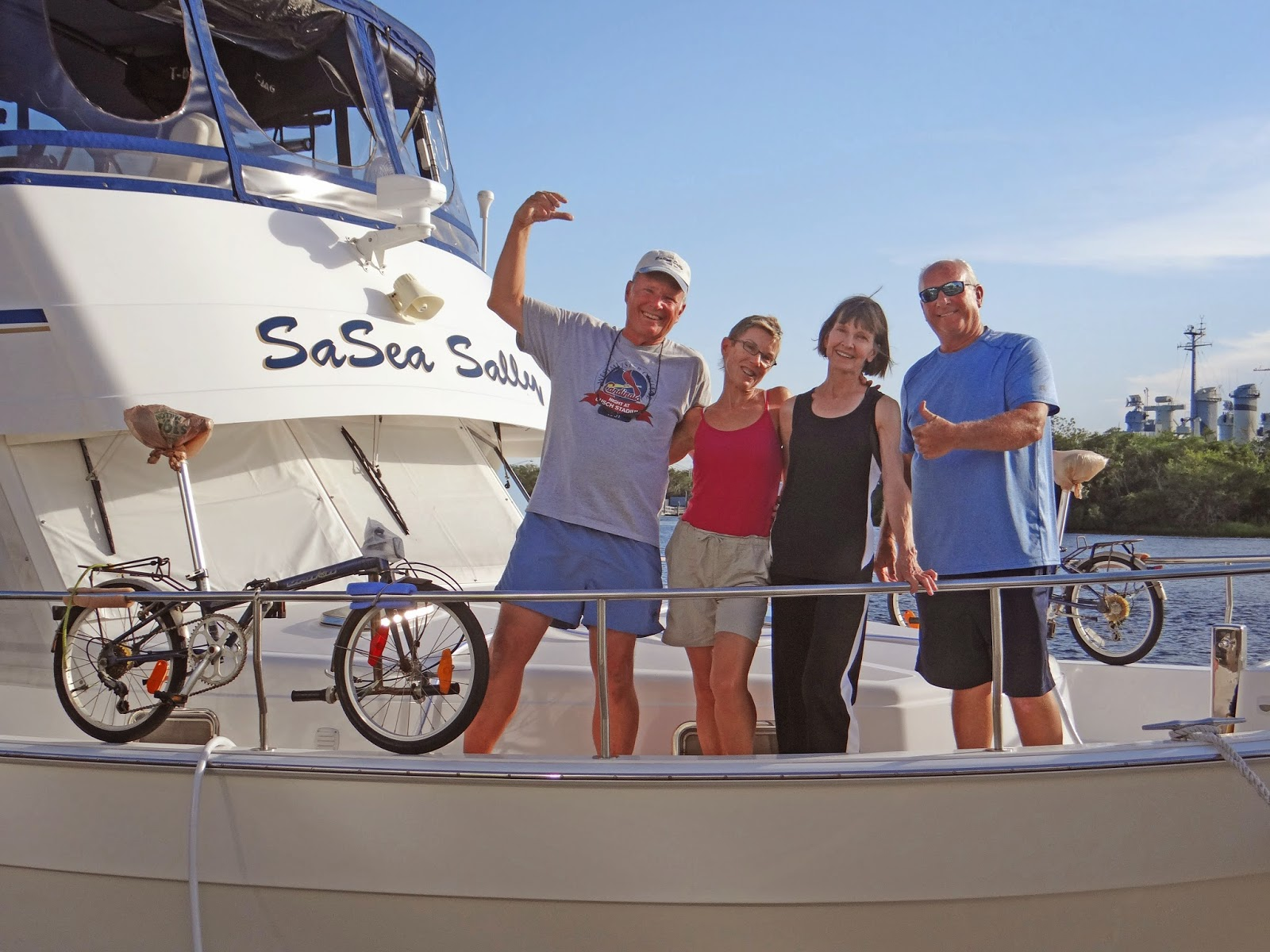 The Adventures of SaSea Sally!: Georgetown, SC to ...Hurricane Sally 2014