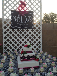 "Custom ""Vinyl Wedding Monogram Signs with Vinyl Decals"