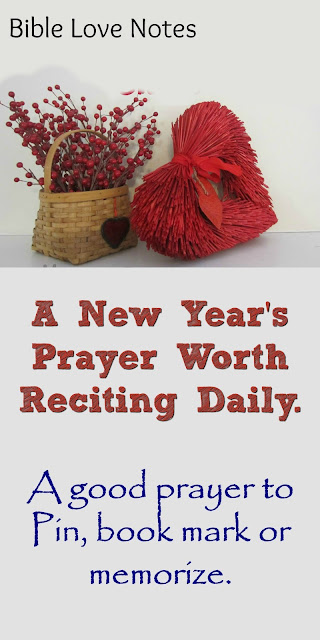 A New Year's Prayer: Each Request a Scripture