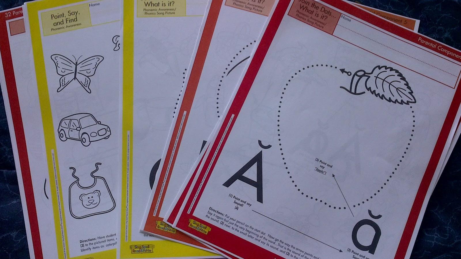Preschooler Busy Hands Preschool Worksheets Abc S