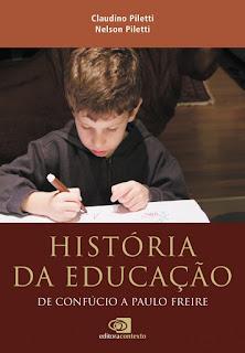 livro história da educação