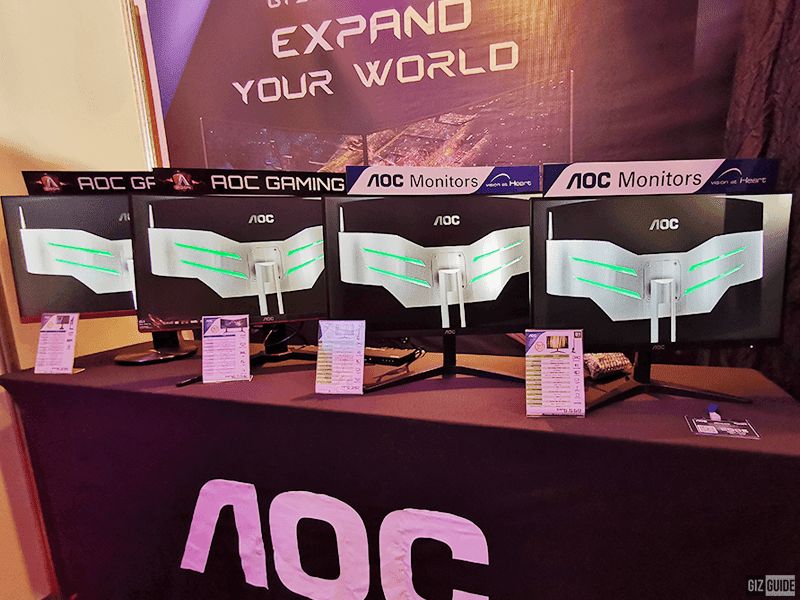 AOC, Philips launches new monitors in the Philippines