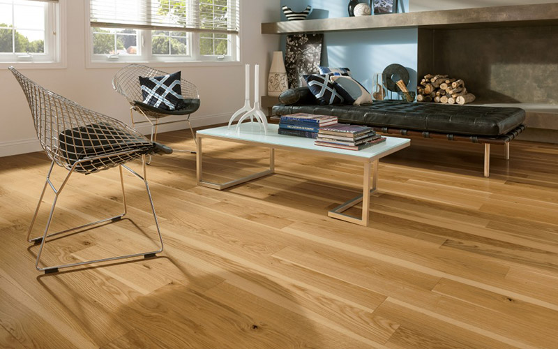 Wood flooring is good for allergy sufferers and looks great too!