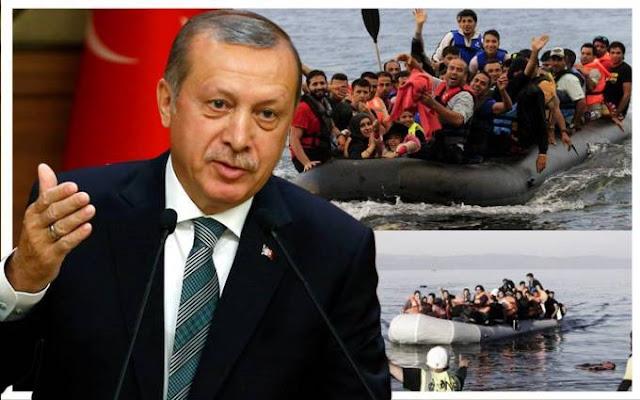 Νέες τουρκικές απειλές προς την Ελλάδα: Δώστε μας τους «8» πραξικοπηματίες, αλλιώς θα σας πνίξουμε στους λαθρομετανάστες!  «Κεραυνοί» Ερντογάν: