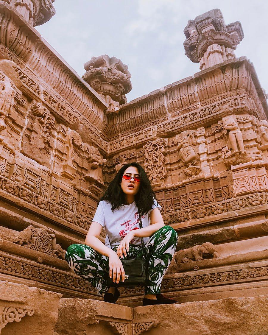 h&m  tropical print pants, fashioninspo, styleblogger