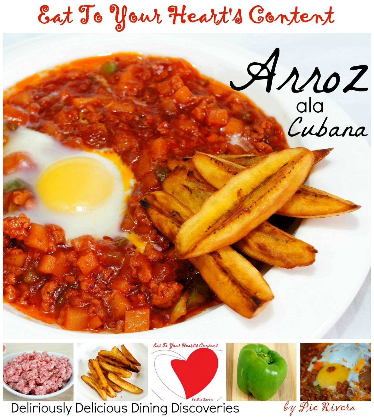 Eat to your hearts content deliriously delicious dining pinoy food recipe arroz ala cubana forumfinder Gallery