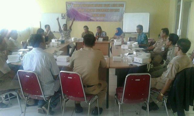 Rapat Pendataan Rumah Tidak Layak Huni (RTLH) Tingkat Kecamatan Tahun 2016