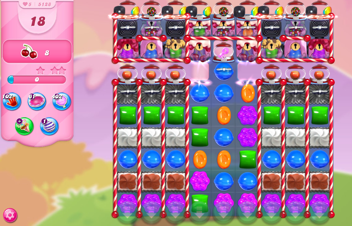Candy Crush Saga level 5128