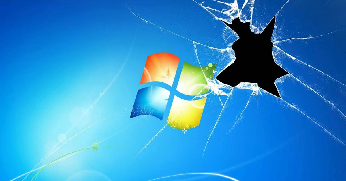 Wallpapers Windows Broken Glass Wallpapers