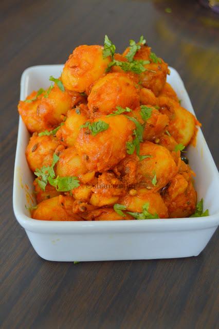 Bombay Potato~Aloo Tadka~Masala Aloo