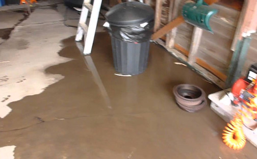 When You Have Water Coming Under The Garage Door That S A Problem But It Can Do Something About
