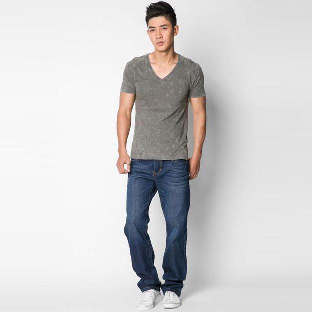 cách chọn quần jeans nam cho người phần hông to